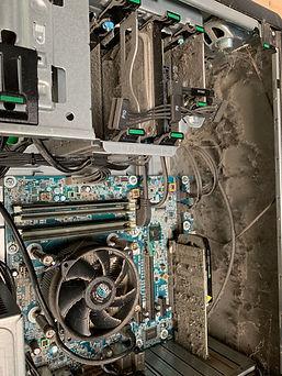 PC Reinigung Staub