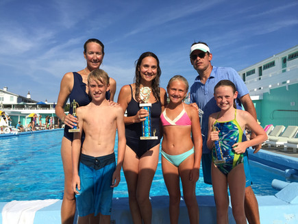 Family Swim Races- Click here for more pictures!