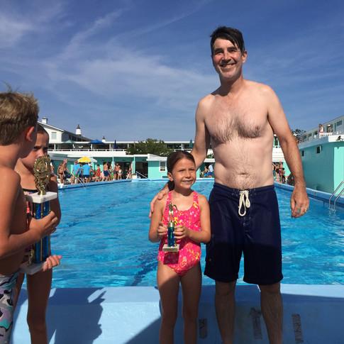 Family Swim Races 2015