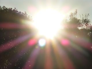 【新しい光りに包まれて!!】
