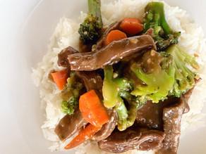 Mongolian Beef & Vegetables