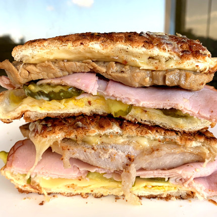 Easy Grilled Cuban Sandwich
