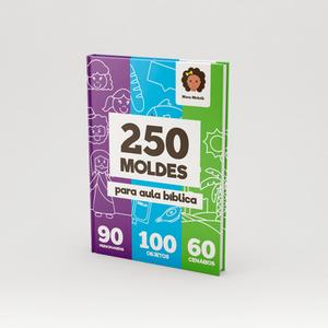 Adquira agora 250 moldes