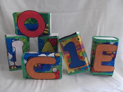 Alfabeto móvel diferente