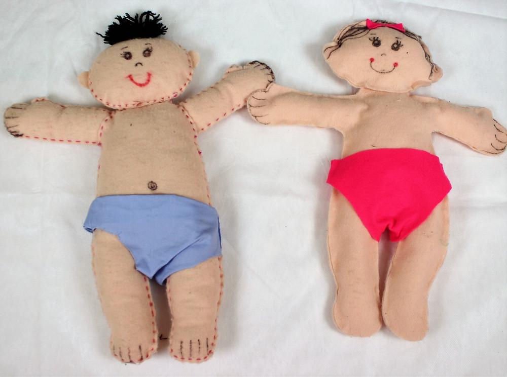 bebe menino e menina