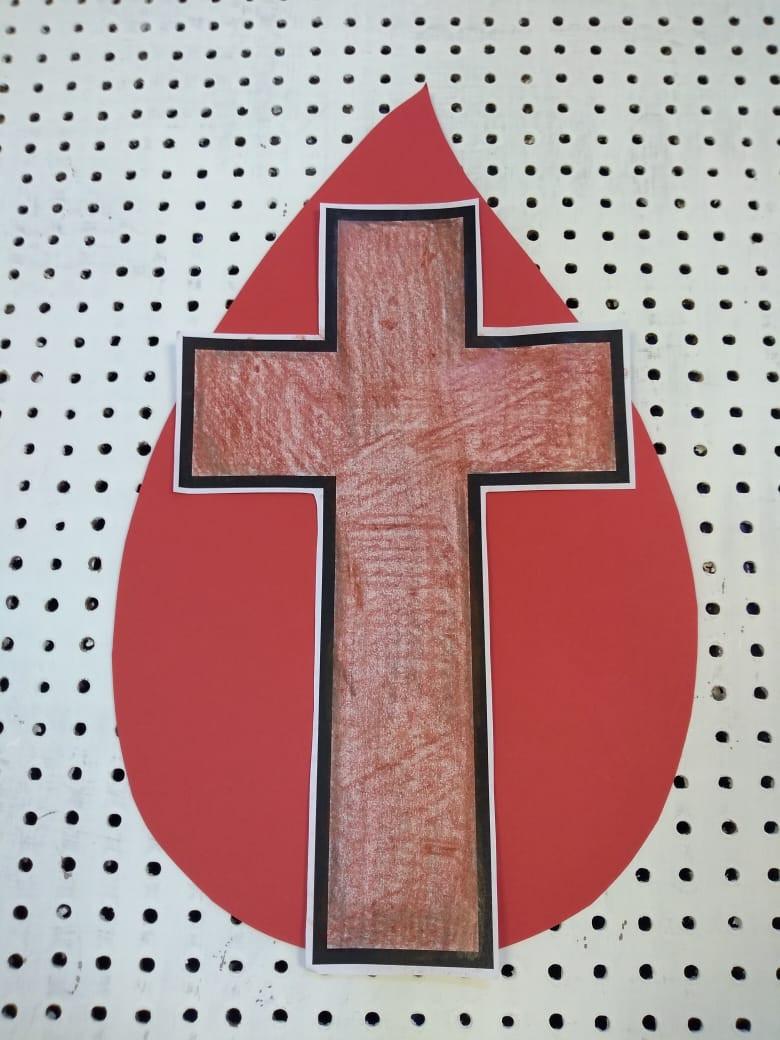 vermelho- sangue de Jesus