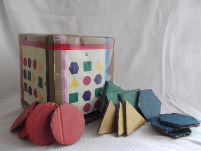 Eco Brinquedo: Cubo das formas