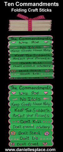 Lembrança Dez Mandamentos
