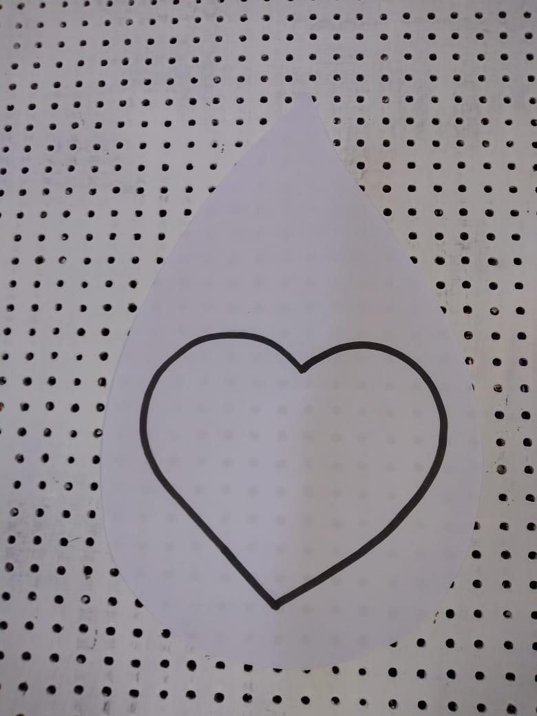 branco- coração limpo