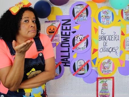 Halloween é brincadeira de criança?