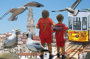 kids on top family tour portugal porto.j