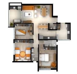 apartamento tipo - torre 2