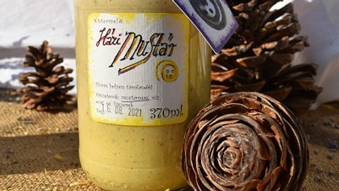 Házi mustár - csípős, cukormentes 370ml