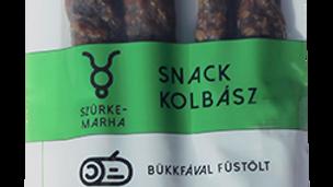 Füstölt szürkemarha snack kolbász, csemege ~300gr