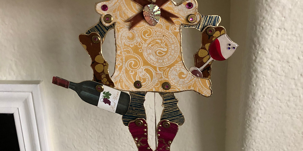Wall Mounted Marionette