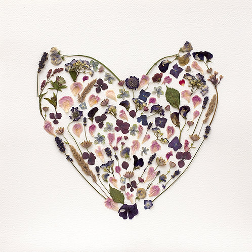 Happy Heart Fine Art Print 20 X 20