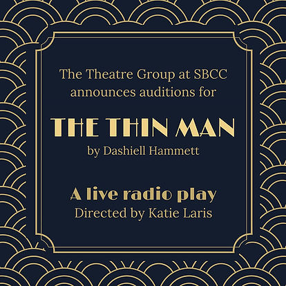 Thin Man Audition Flyer