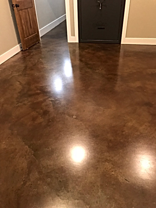 stain and seal new construction
