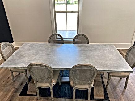 Concrete Kitchen Table Top