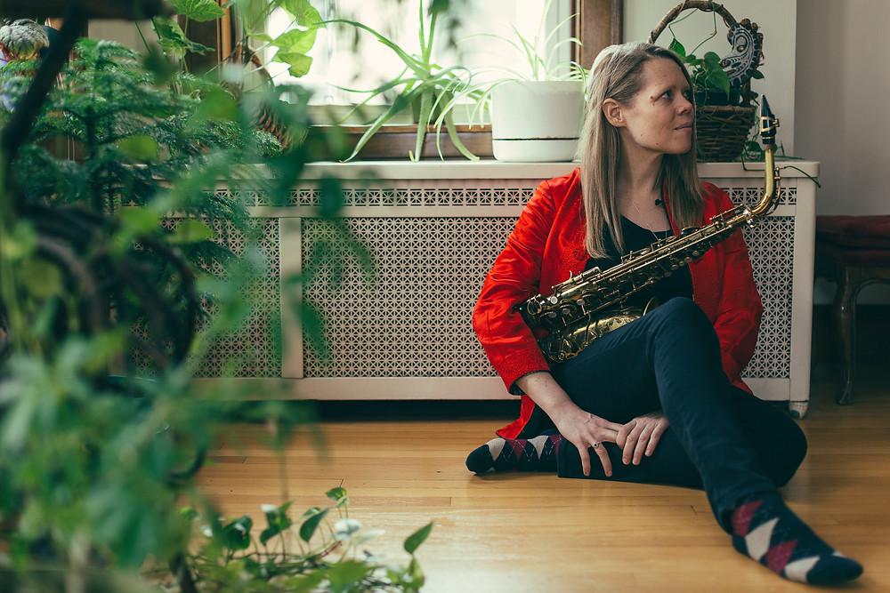 Caroline Davis Jazz Saxophonist