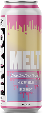 Melt smoothie sour beer can