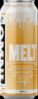 Melt orange creamsicle beer can