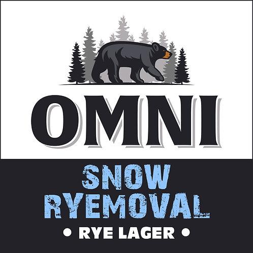 Snow Ryemoval