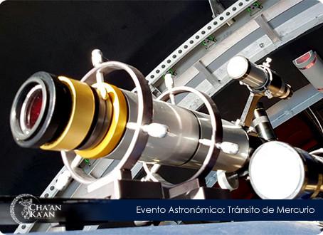 Evento Astronómico: TRÁNSITO DE MERCURIO