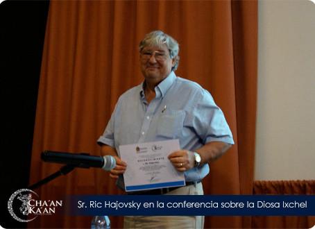 Conferencia sobre la Diosa Ixchel