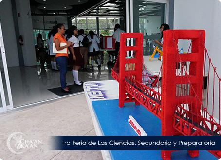 Exitosa convocatoria para la 1era Feria de las Ciencias
