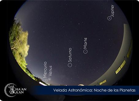 """""""Noche de los Planetas"""" en Cha'an Ka'an"""