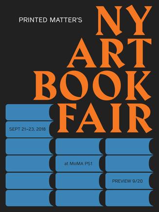 〖NEW YORK〗New York Art Book Fair 2018