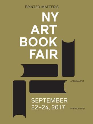 〖NY〗The New York Art Book Fair 2017