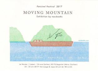〖PARIS〗Moving Mountain - nos:books exhibition at Fanzines! Festival 2017