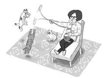 猫じゃらしタイム