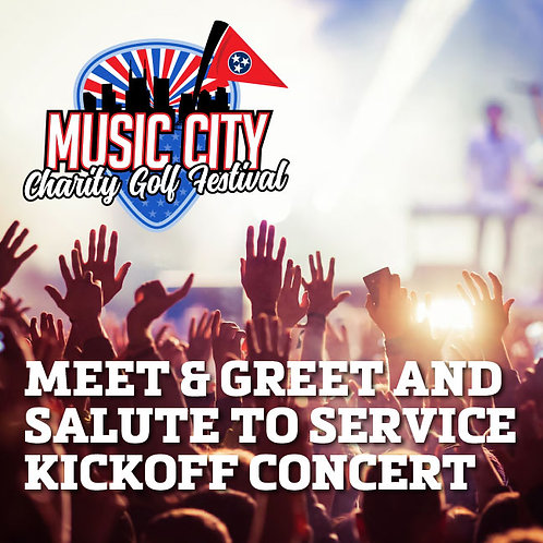 MEET & GREET FOR THE SALUTE TO SERVICE KICKOFF CONCERT (Limited Availability)