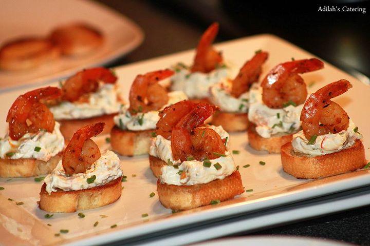 Cajun Shrimp Canapé
