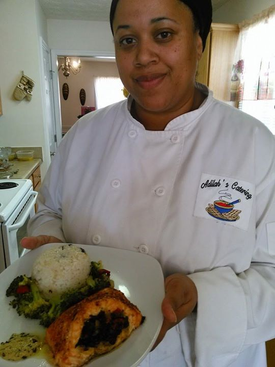 stuffed Fish and Coconut Rice