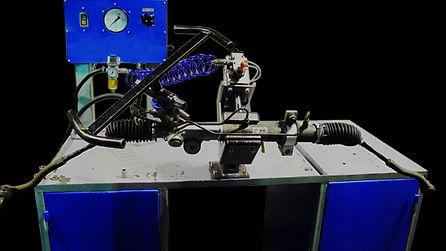 Стенд проверки рулевых реек