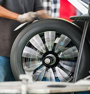 Балансировка колес для устранения вибрации на руле