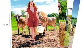 Tadam ! Le nouveau calendrier Belles des Prés est enfin disponible à la vente.