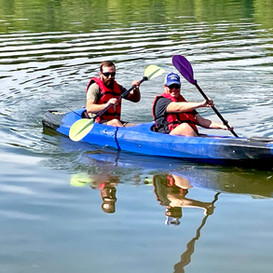 Double closed kayak