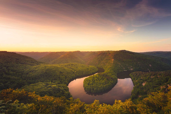 """Landscape of Auvergne I"""