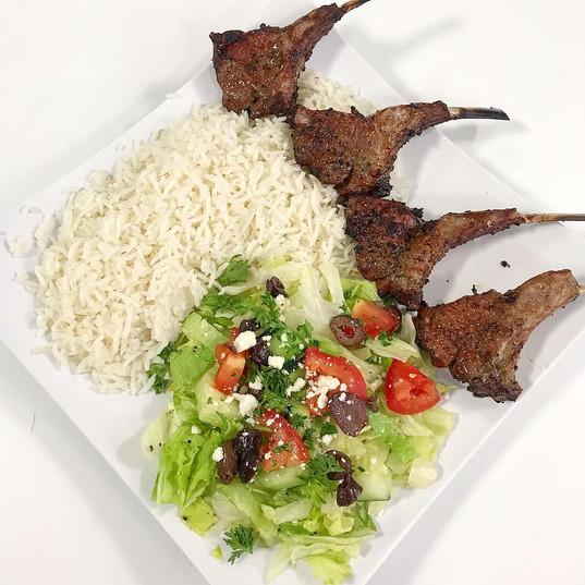 Lamb Chop Entree