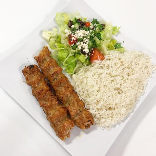 Chicken Kabob Entree