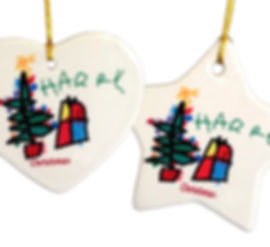 Personalised Ornaments as Christmas Decoration