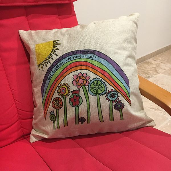 Kids Art Cushion Cover