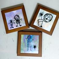 Personalised Framed Tile