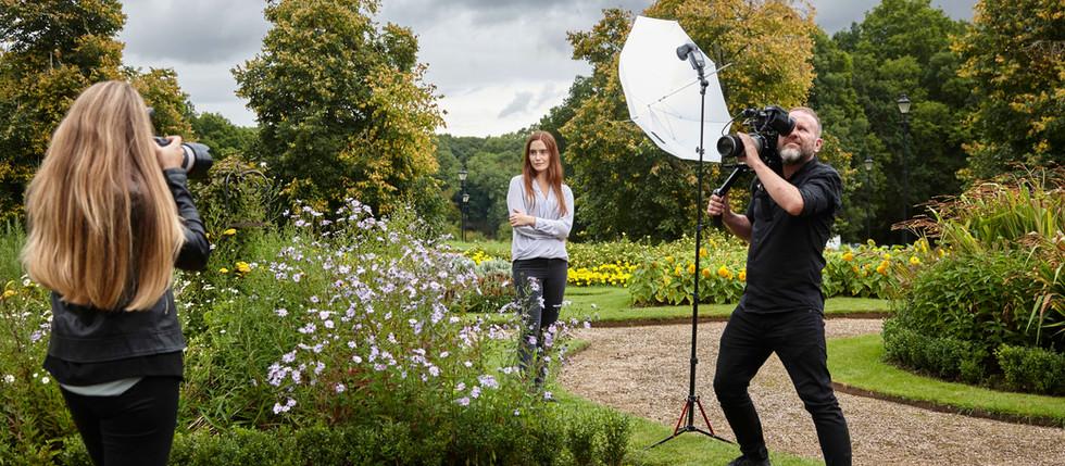 Behind the Scenes Shoot in London