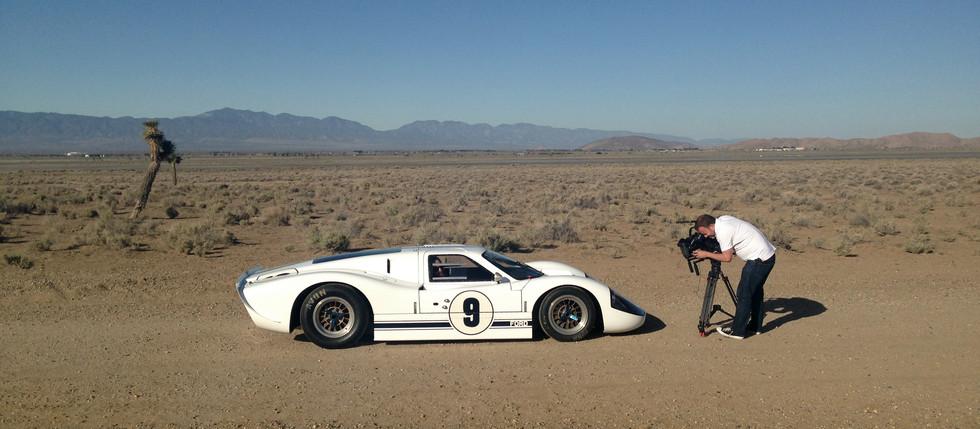 Ford GT40 in the El Mirage Desert
